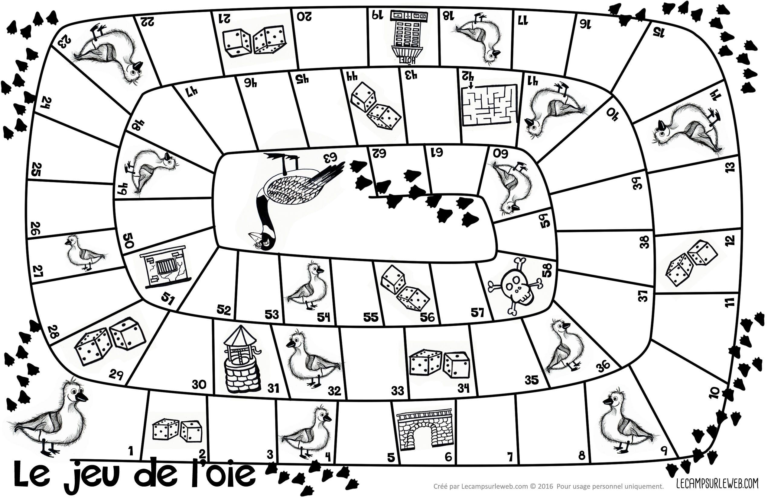 See original image | Jeu de l'oie, Jeux coloriage, Jeux de logique