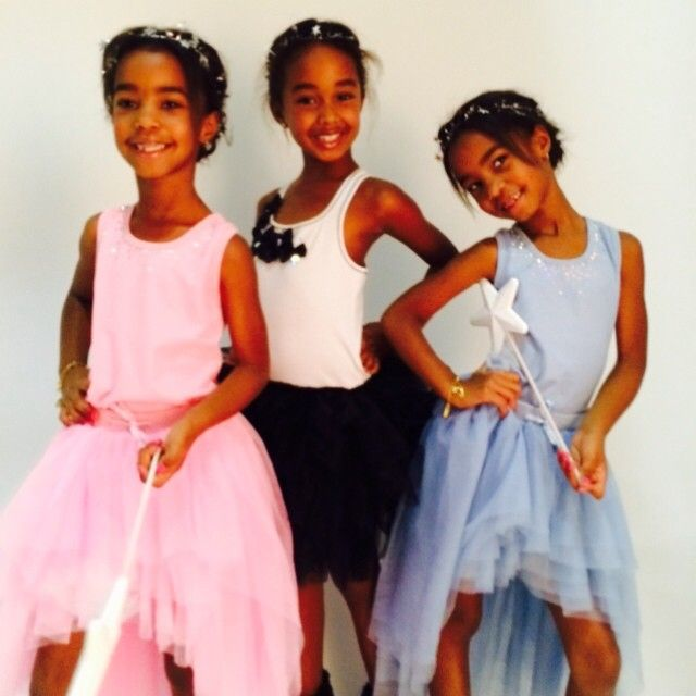TWINS Girls, D'Lila Star And Jessie James With Half-Sister