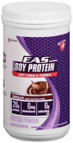 EAS Advantedge Soy Protein Drink Mix Powder, Chocolate ...