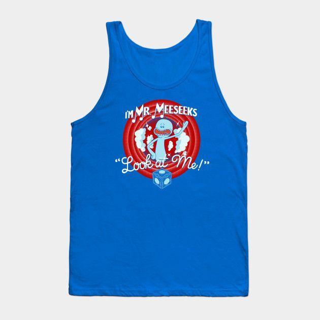 Merrie Mr. Meeseeks - Mens Tank Top