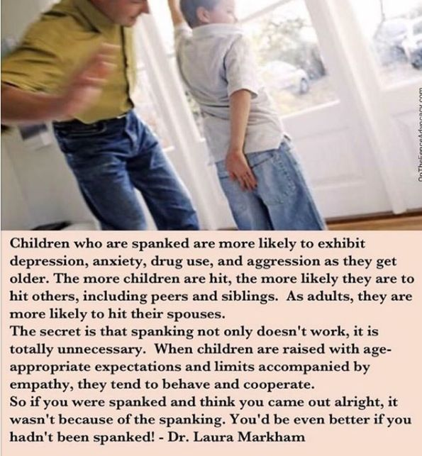 Spanking As A Form Of Discipline