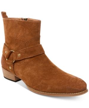 23146663529 Steve Madden Men s Palazzo Suede Side-Zip Boots - Tan Beige 11.5 ...
