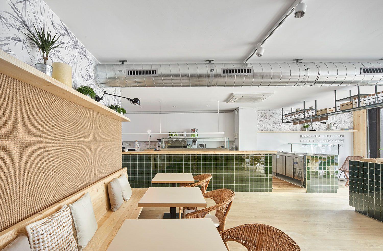 Verd Go Restaurant In Barcelona By Scala Studio Interior