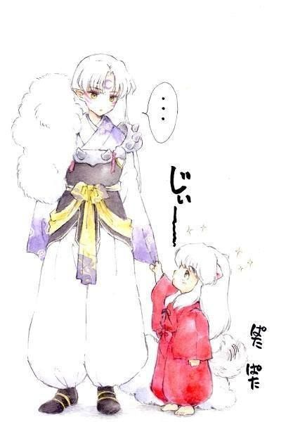 Like this would ever happen in real Inuyasha world but it ...
