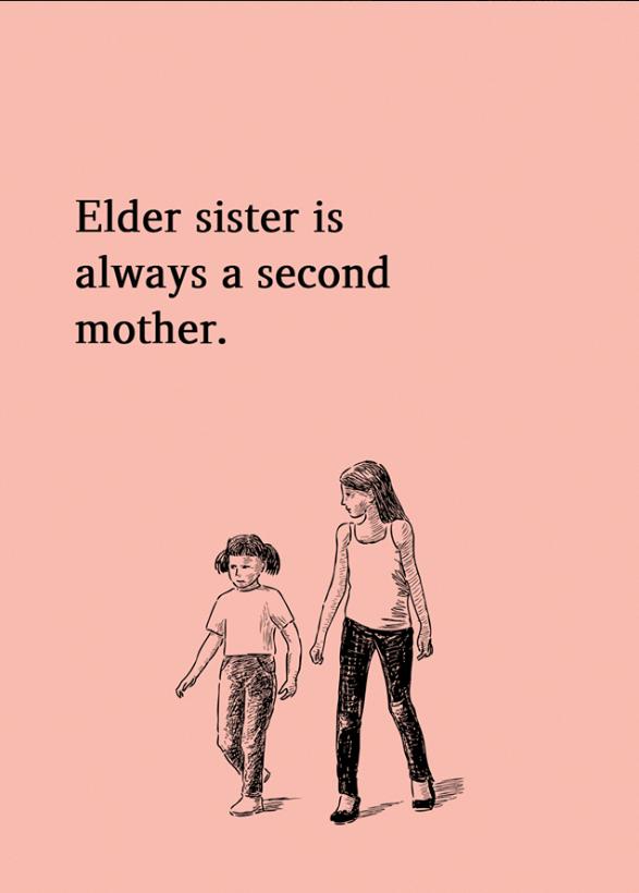 Elder Sister Is Always A Second Mother Relationship Sisters Motherhood Momllife Love Family Relation Sister Quotes Funny Sisters Quotes Sister Quotes