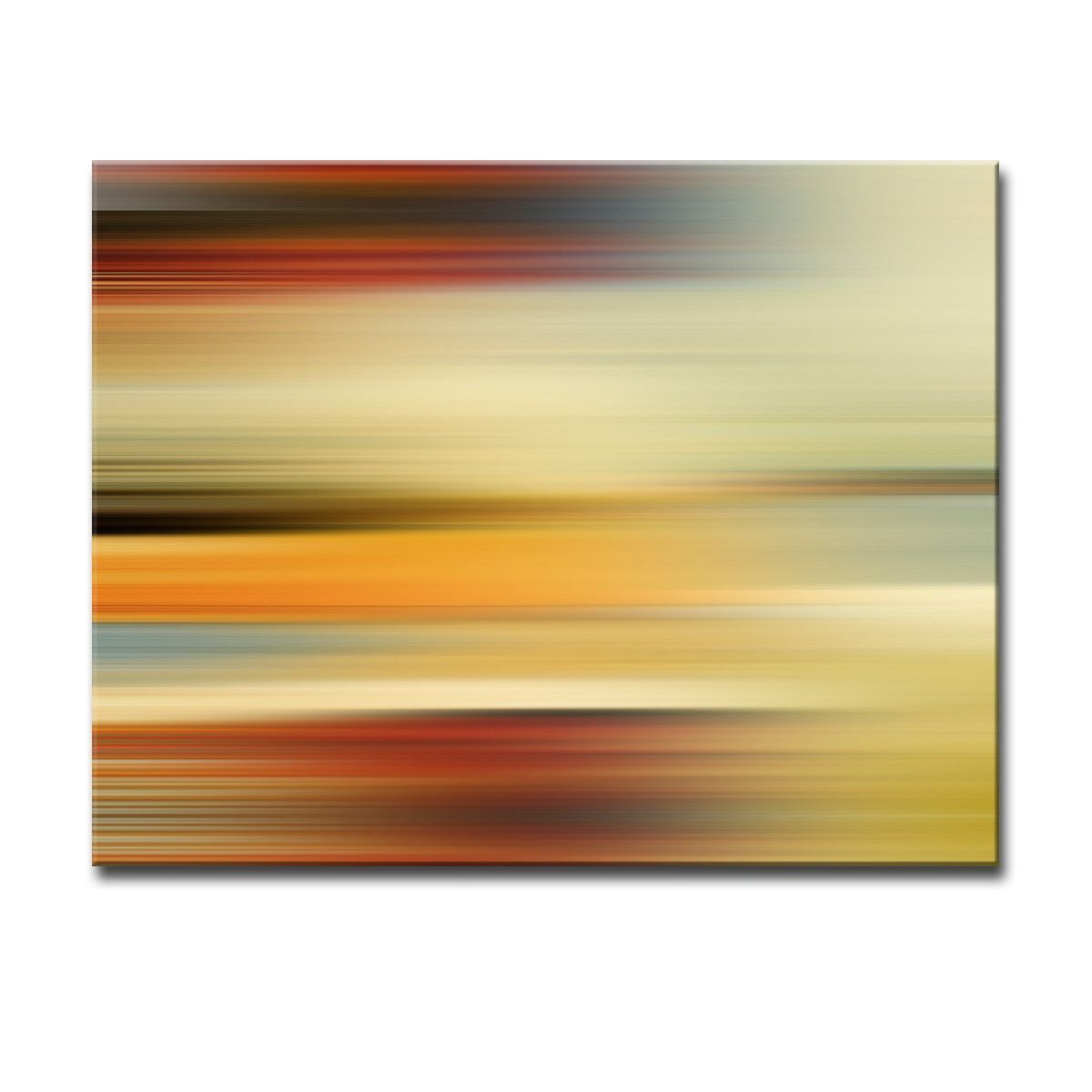 Blur Stripes L\' Wall Art on Canvas | Canvases, Graphic art and Products