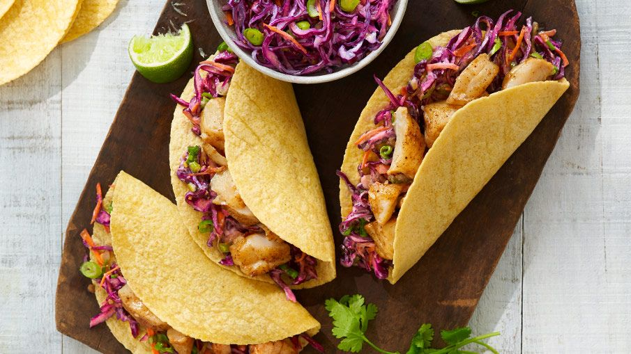 Fish tacos with cabbage slaw thehub from walmart canada
