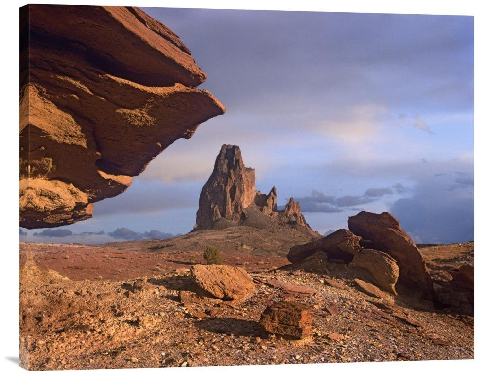 Agathla Peak, the Basalt Core of an Extinct Volcano, Monument Valley, Arizona
