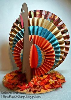 Home Decor Thanksgiving Turkey Centerpiece & Tutorial