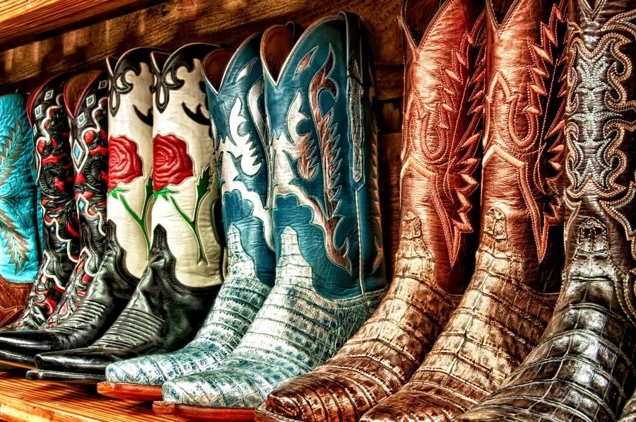 hdr cowboy boots photography i love pinterest boots