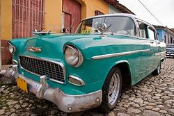 One of the many vintage beauties in #Cuba