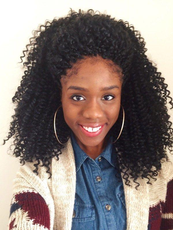 Shoulder Length Crochet Braids For Teen