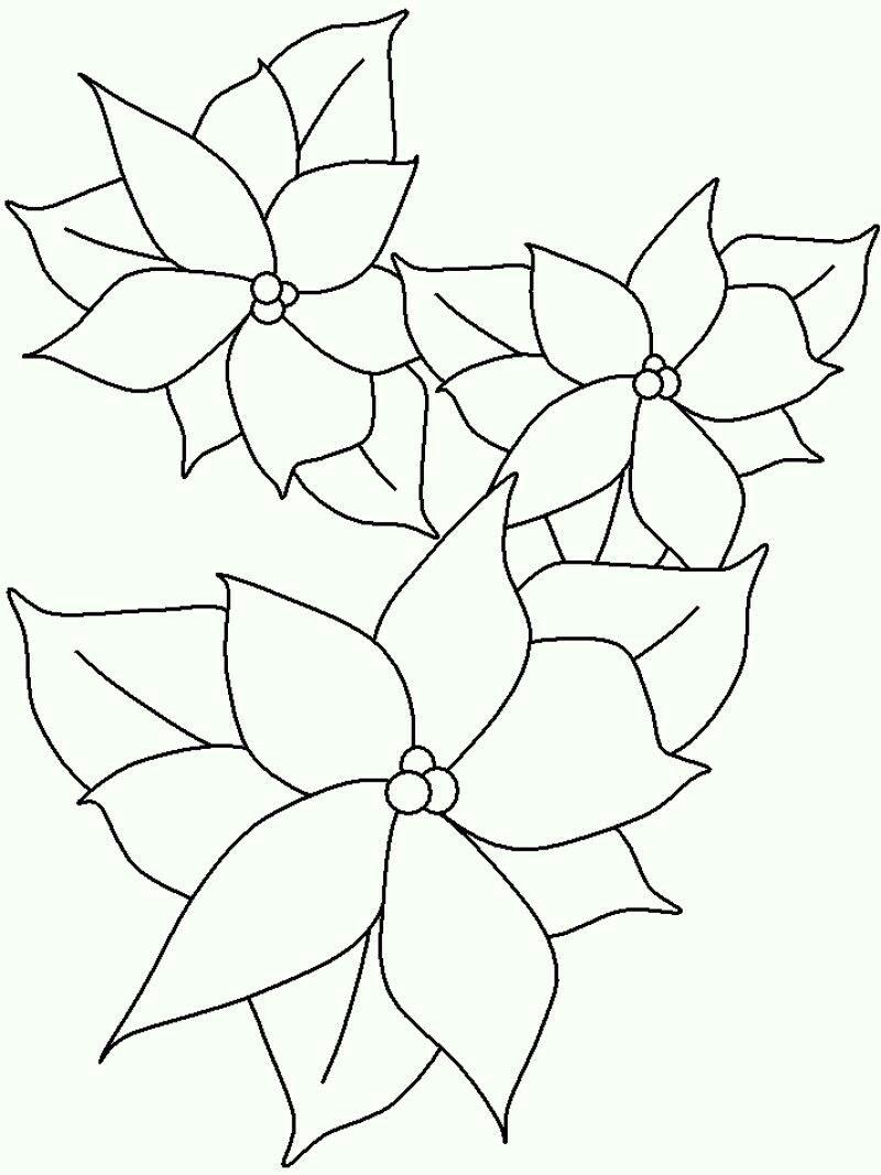 Dessin de fleur à colorier pour bujo bulletjournal