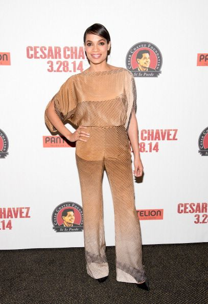 Rosario Dawson attends a screening of 'Cesar Chavez' at AMC Empire on March 17, 2014 in New York City
