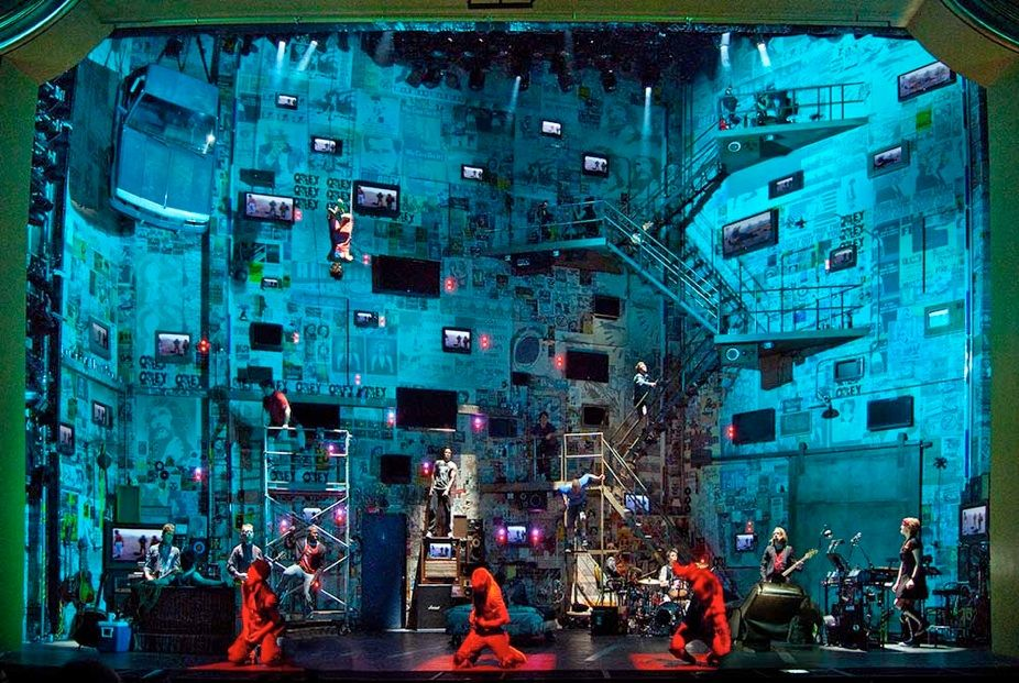 Kevin Adams - lighting designer & Kevin Adams - lighting designer | Theatre | Pinterest | Scenic ...