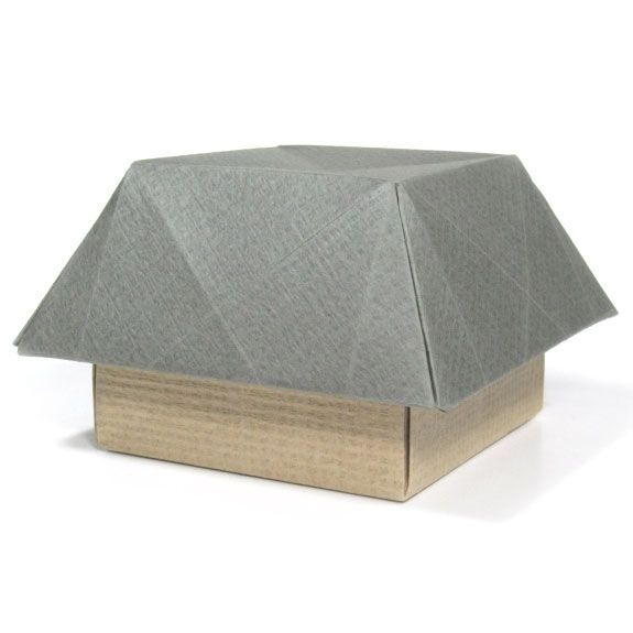 How To Make A 3d Origami House Ii Httporigami Make