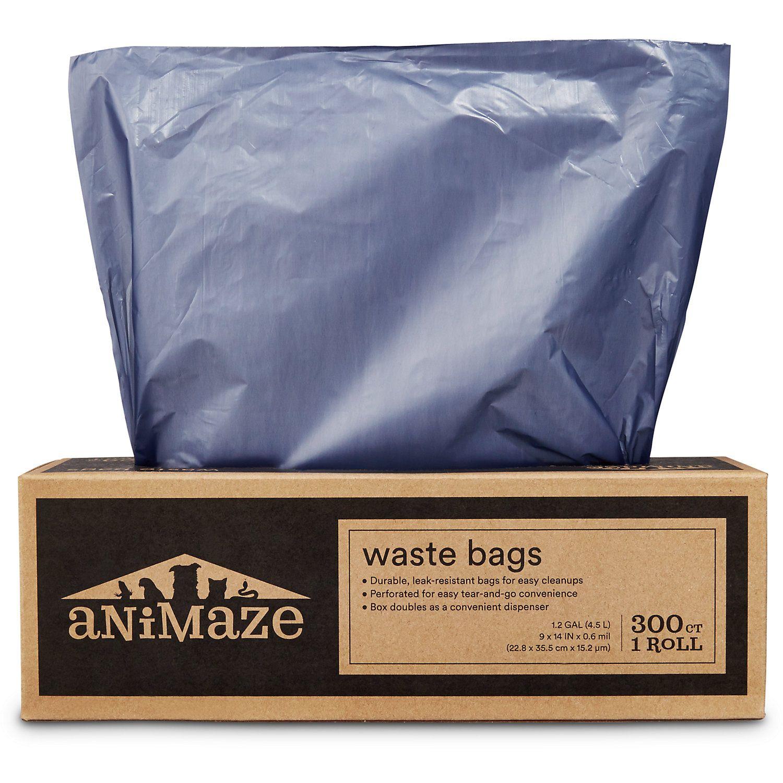 Animaze Pantry Pack Dog Waste Bags 300 Ct Pet Travel Dog