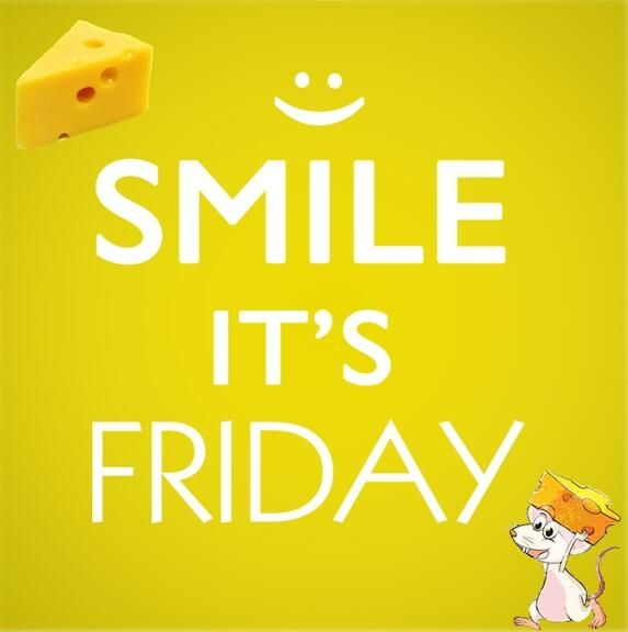 Smile its Friday!