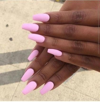 56 ideas nails fall matte brown nails in 2020  pink