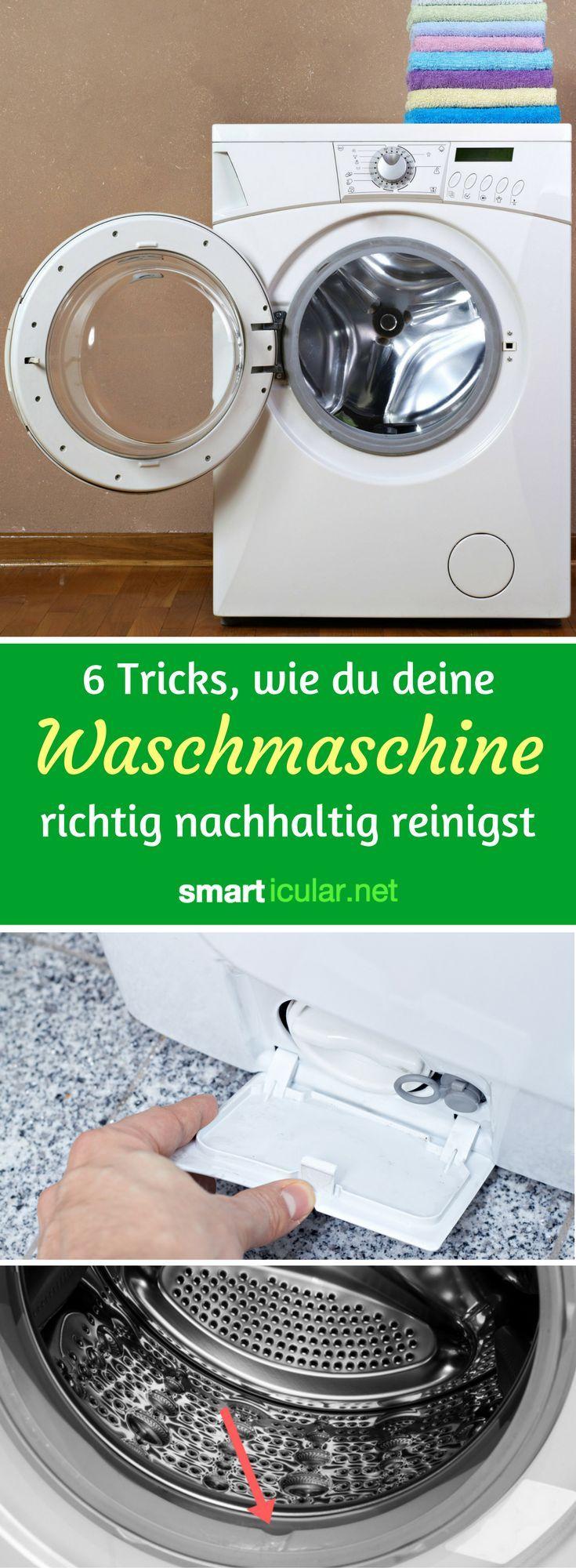 waschmaschine umweltfreundlich reinigen mit hausmitteln putztricks pinterest. Black Bedroom Furniture Sets. Home Design Ideas