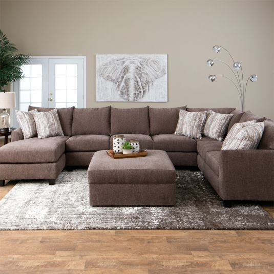 Harper Brown Raf Tux Sofa Armless Sofa Laf Chaise Quality Living Room Furniture