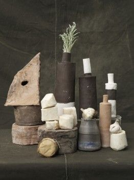 pots by natsuko uchino,and paula greif for old field farm / art and agriculture