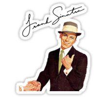Frank Sinatra Stickers Frank Sinatra Sinatra Stickers
