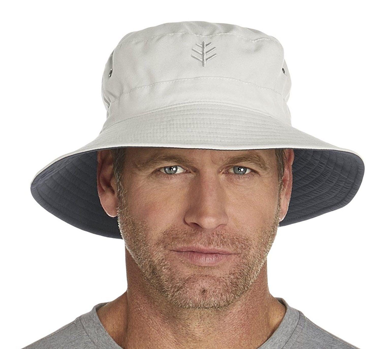 Upf 50 Men S Reversible Bucket Hat Sun Protective Stone Carbon Cz12egdcrfj Hats Caps Men S Hats Caps Sun Hat Mens Sun Hats Hats For Men Sun Hats