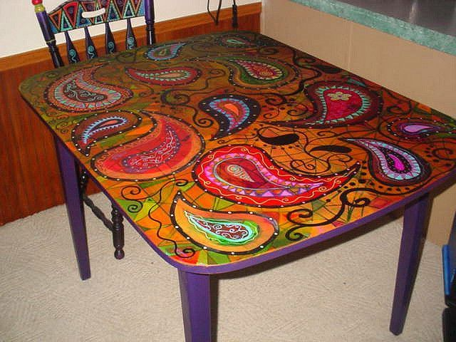 Hand Painted Furniture Whimsical   Paint : Best Home Design Ideas .