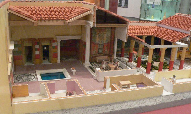 Roman Villa Model