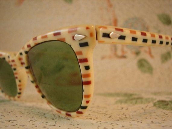 Sunglasses - 1950's-1960's - Rockabilly - Super Geek Chic