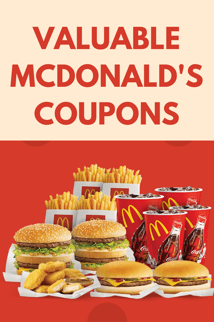 Get Free Fast Food Coupons Claim Your Mcdonald S Coupons And Save Big On Meals Snacks And More Free Food Coupons Mcdonalds Coupons Fast Food Coupons
