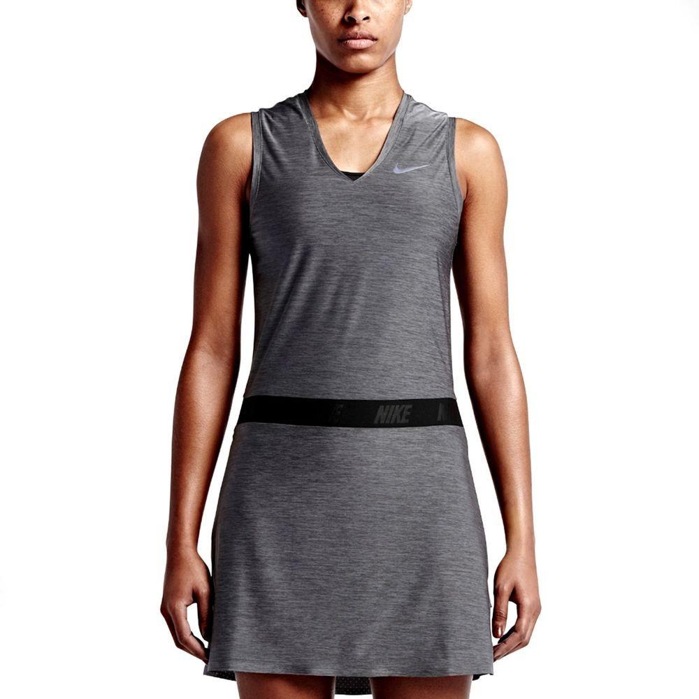 Nike Ace Sleeveless Women's Golf Dress Was $125 Small Gray