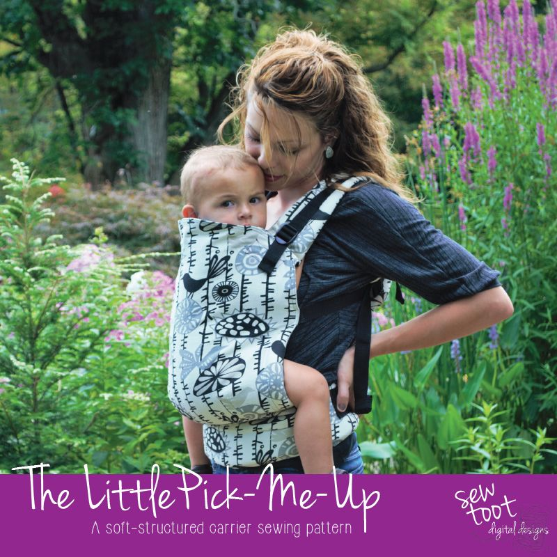 Baby Carrier Sewing Pattern - The Little Pick-Me-Up by   erstes Baby ...