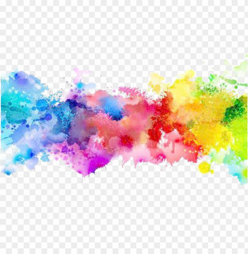 Color Png Transparent Paint Splatter Rainbow Png Image With Transparent Background Png Free Png Images Rainbow Png Paint Splatter Art Watercolor Splash