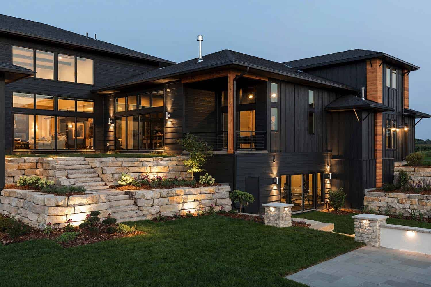 Minnesota Home Features Delightful Mountain Inspired Elements Minnesota Home Modern Barn House Cottage Style Homes