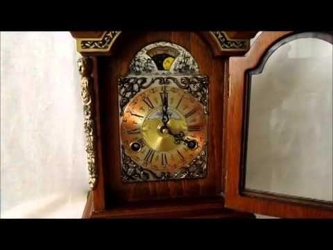 On eBay NOW. See it working this Rare Large 11.4'' Warmink Black Banded Nut Wood Bracket Clock With Moon. http://www.ebay.co.uk/itm/Rare-Warmink-Black-Band-11-4-Dutch-8-Day-Nut-Wood-Bracket-Clock-Moon-Phase-/371069153926?pt=UK_Clocks&hash=item566571f286