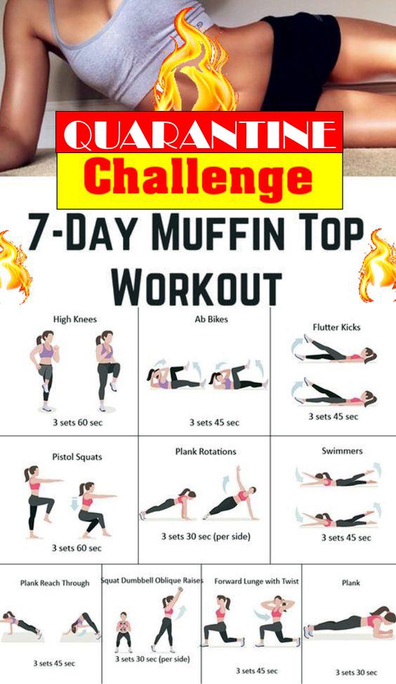 Quarantine - Muffin top Workout