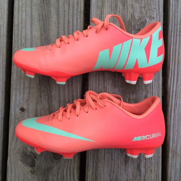 pink nike soccer cleats