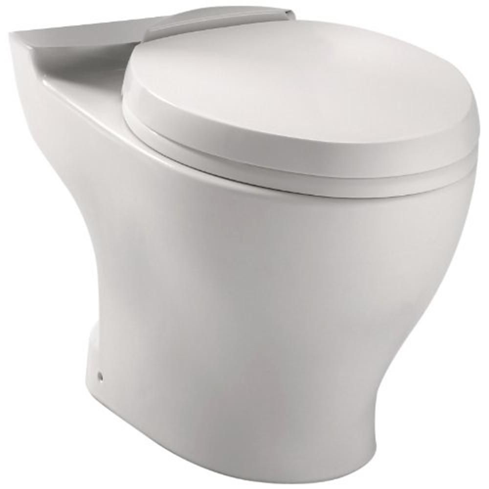 TOTO Aquia 1.6 GPF Dual Flush Elongated Toilet Bowl with 10 in ...