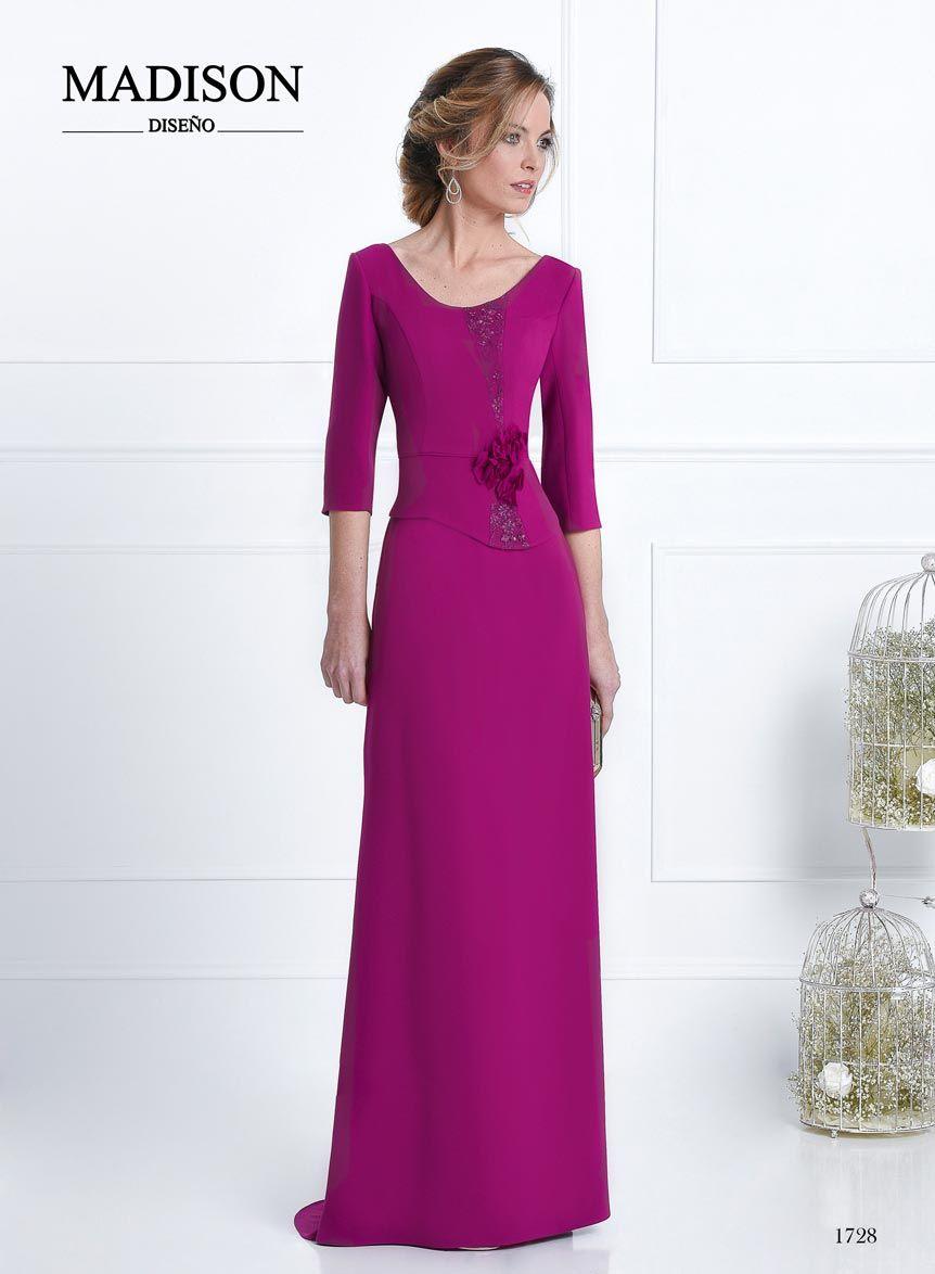 vestido de madrina y fiesta morado   Madrinas   Pinterest   Vestido ...