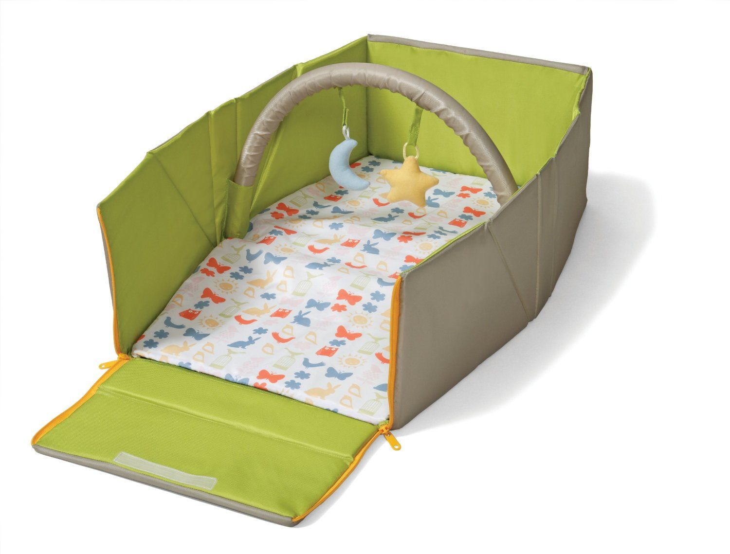 c42db8927 Amazon.com  Infantino Napnest Easy Fold Travel Bed  Baby
