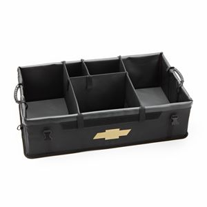 USE COUPON CODE: PINTEREST TO RECEIVE 50% OFF SHIPPING. CARGO ORGANIZER W/ GOLD BOWTIE LOGO - BLACK. Part #19202575