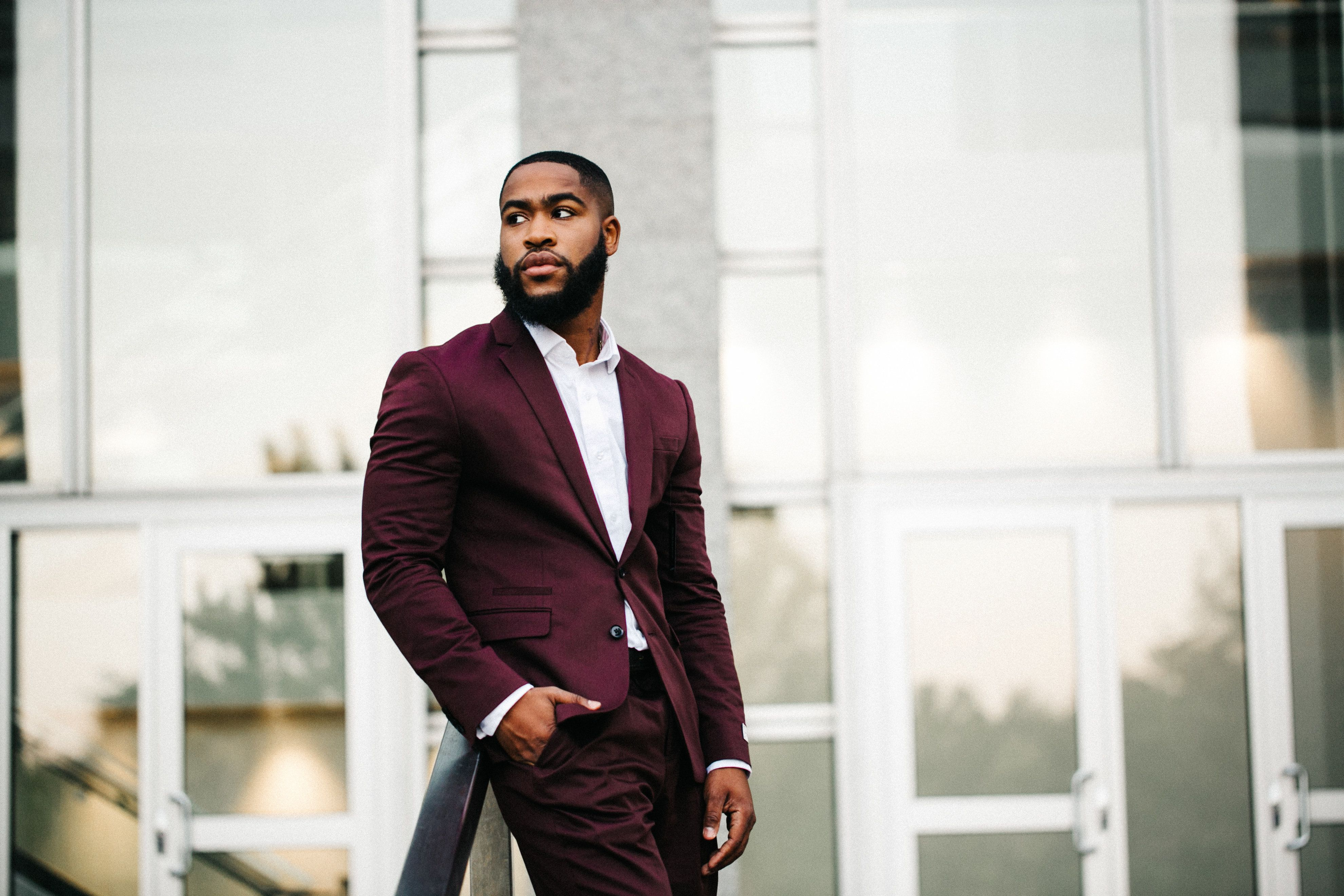 Men formal haircut gorgeous black men with beards photos   dapper kings