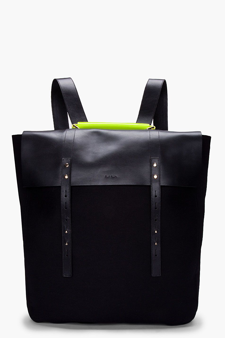 PAUL SMITH - Neon Handle Mainline Backpack