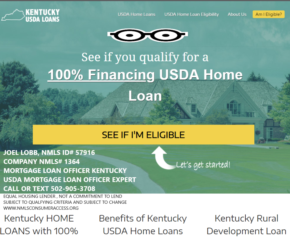 Kentucky Usda Rural Housing Loans Kentucky Usda Rural Development For 2019 Mortgage Guidelines Mortgage Loans Mortgage Mortgage Lenders