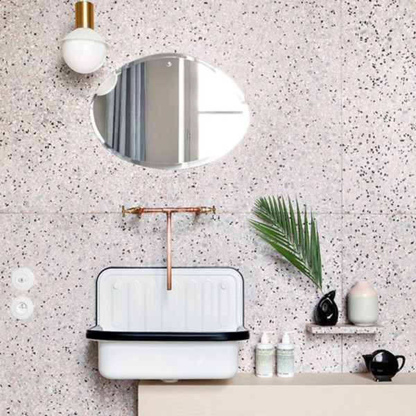 Pinterest predicts the top home trends of 2018 terrazzo for Bathroom interior design trends 2018