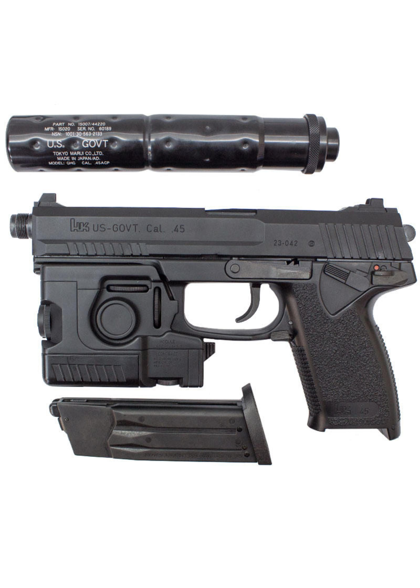 Tokyo marui mk23 socom pistol w lam suppressor black guns tokyo marui mk23 socom pistol w lam suppressor black thecheapjerseys Image collections