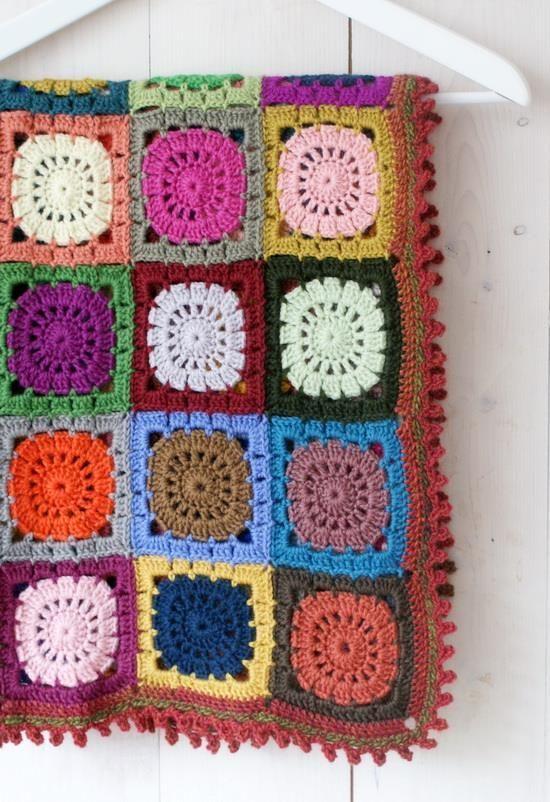Patrones de ganchillo: manta de ganchillo patrón libre - Oasis de ...