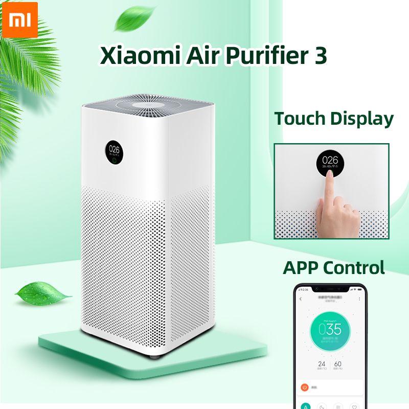 Xiaomi Air Purifier 3 Filter Mi Air Cleaner Fresh Ozone For Home